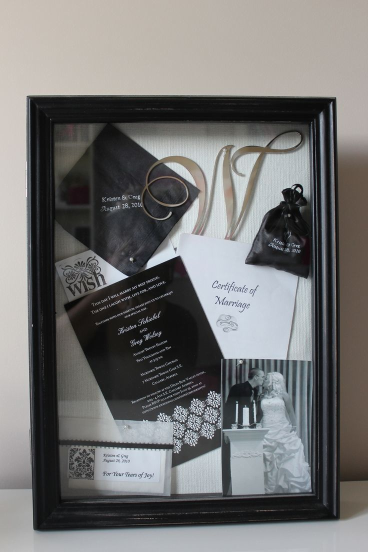 1000 ideas about wedding shadow boxes on pinterest wedding memory box marriage license and. Black Bedroom Furniture Sets. Home Design Ideas