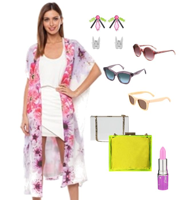 To Die for Kimono!  I am in love with this floaty kimono style jacket!  Get in my summer wardrobe!