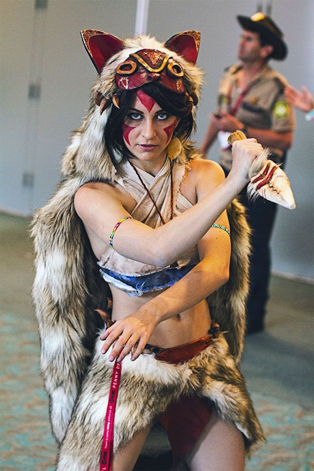 Princess Mononoke (Hime Mononoke). Curated by Suburban Fandom, NYC Tri-State Fan Events: http://yonkersfun.com/category/fandom/