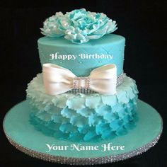 Write Name On Birthday Cake Pictures For Girls