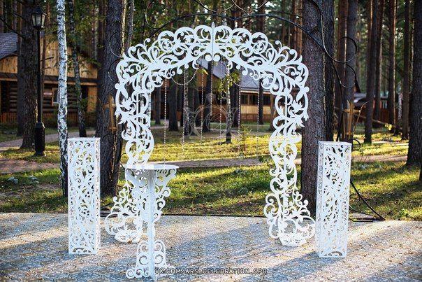 Свадебная арка из металла