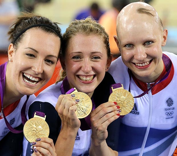 Olympic memories: GB Women's Team Pursuit cyclists won gold -day 8