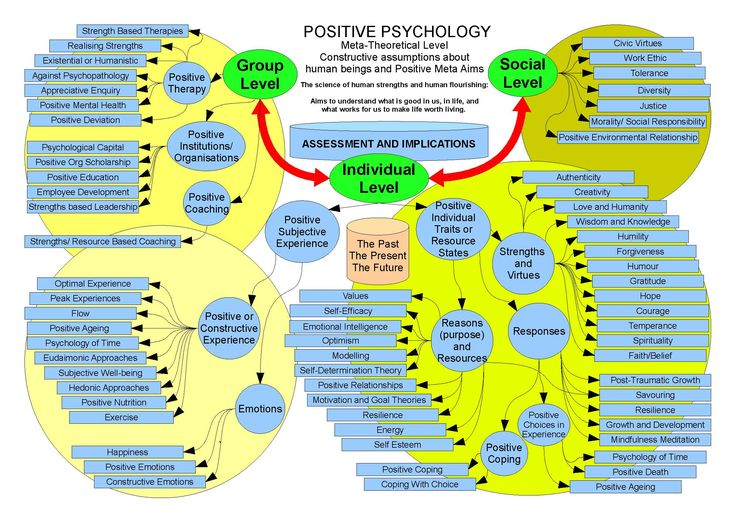 Positive Psychology Great Compilation Web Site Social
