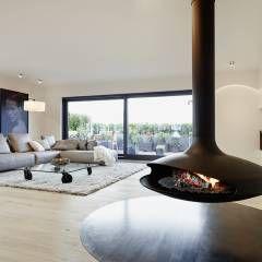Penthouse: moderne Wohnzimmer von honey and spice