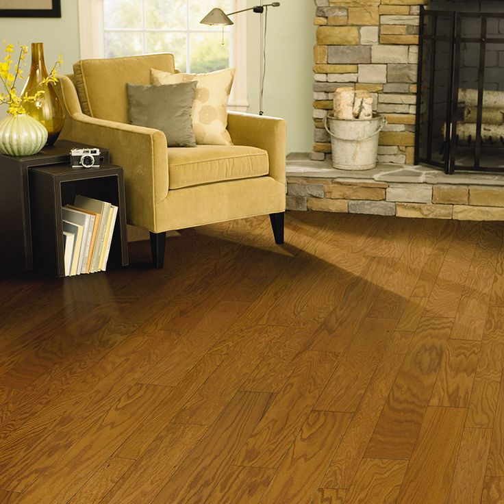 Natural Oak #hardwood Floors For Living Room. #ideas