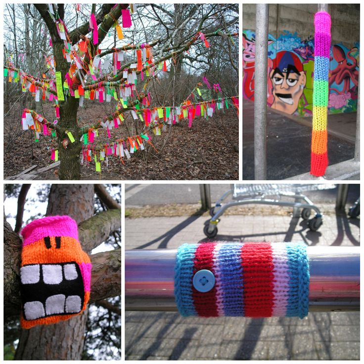 50+ best Guerilla Knitting (Fotos von anderen) images on Pinterest ...