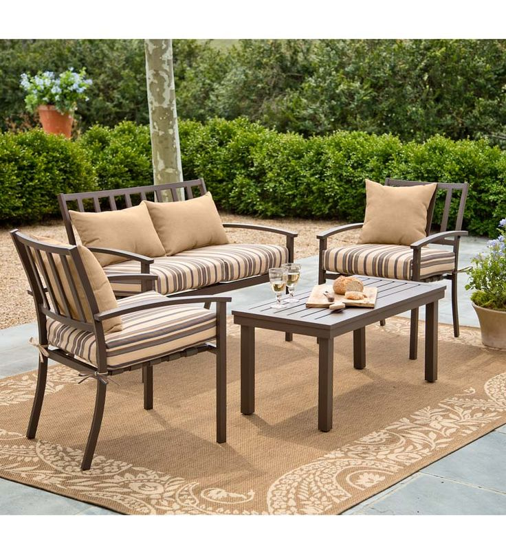 17 best images about outdoor accent chairs on pinterest for Living accents patio furniture