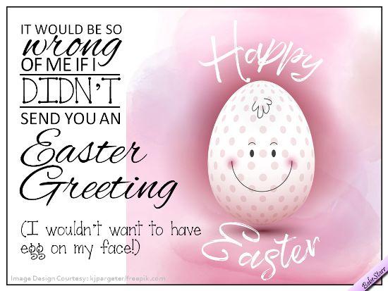 #Easter #ecard #humor #friends www.123Greetings.com/profile/bebestarr #easteregg