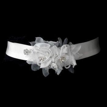 Beaded Crystal Bridal Sash Belt Wedding Accessories