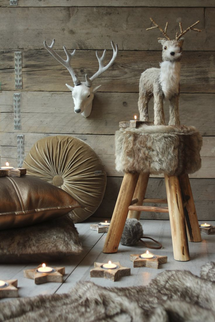 winter - kerst - woonaccessoires - nep bont - faux fur - decoration - styling