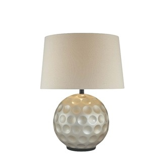 love this lamp for Brian's man room... looks like a golf ball!