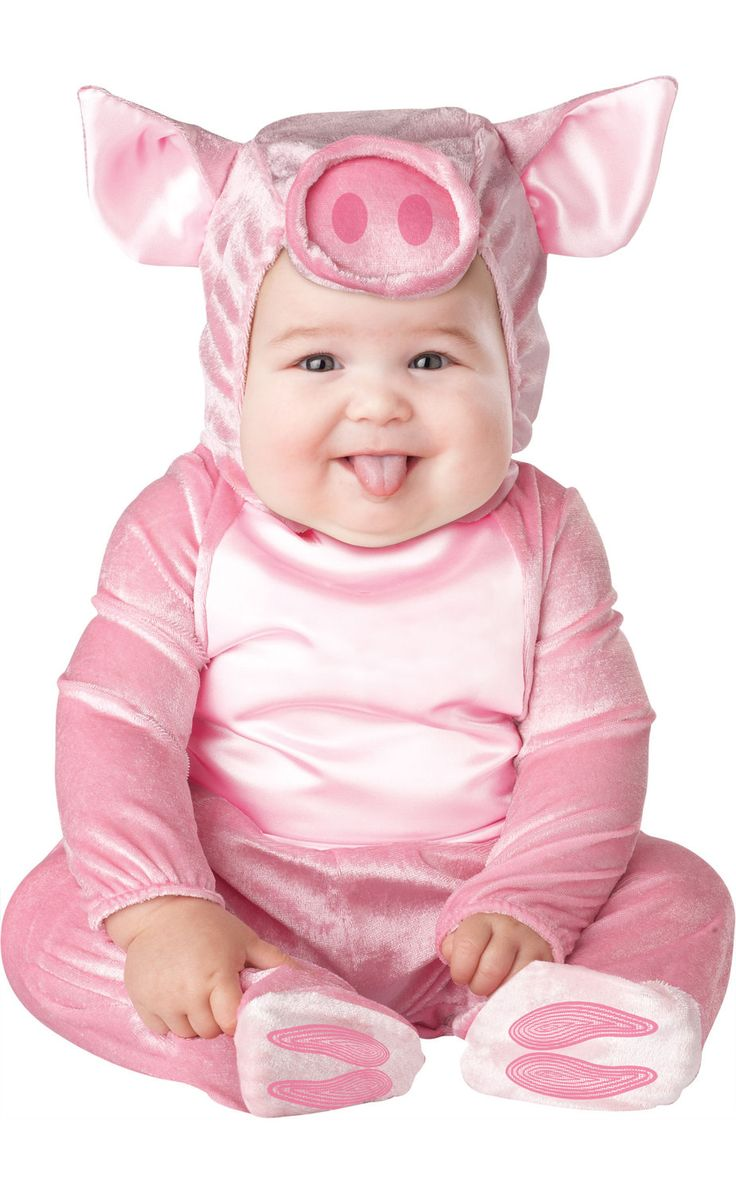 BABY COSTUMES FOR GIRLS | Girls Pink Little Piggy Baby Costume Baby Animal Costumes - Mr ...
