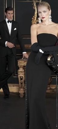 RL: Date Night, Ralph Lauren, Fashion, Luxury Life, Black Ties Affair, Pure Elegant, Ralphlauren, Black Gowns, Black Tie Affair