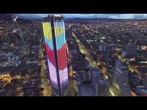 Bogotá, Colombia - Espectacular! - DJI Phantom 3 - YouTube