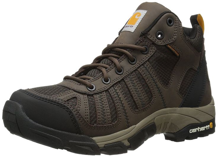 Carhartt Men's Lite WT Mid HK BN Work Boot *** Awesome boots. Click the image : Carhartt Boots