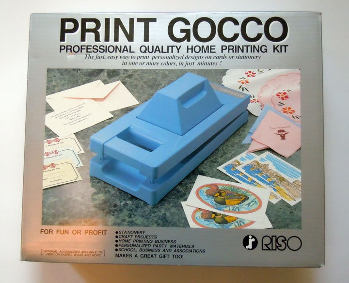 Gocco (S-103 Print Gocco B6HM Kit) | supplies | Pinterest