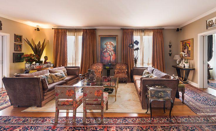 Decoração glamurosa e opulenta ao melhor estilo Hollywood Regency  #décor #Decoração #Design #HollywoodRegency #Projeto