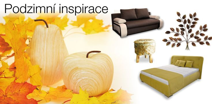 Podzimní inspirace - Sconto Nábytek