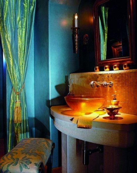 114 Best Images About Bohemian Bathroom On Pinterest