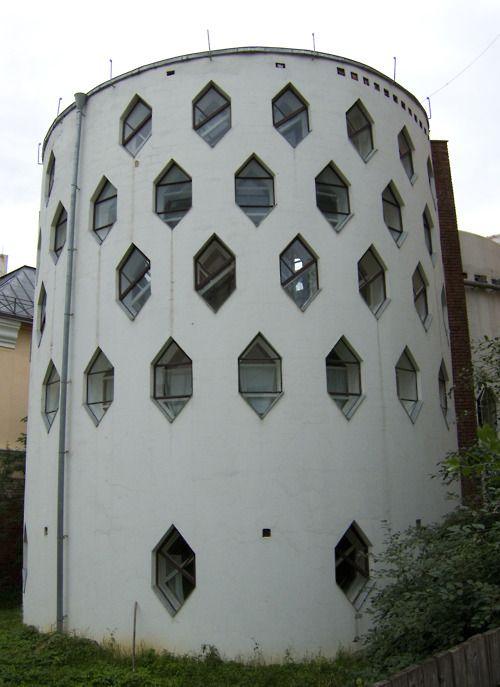 Own house of architect Konstantin Melnikov in Moscow ...