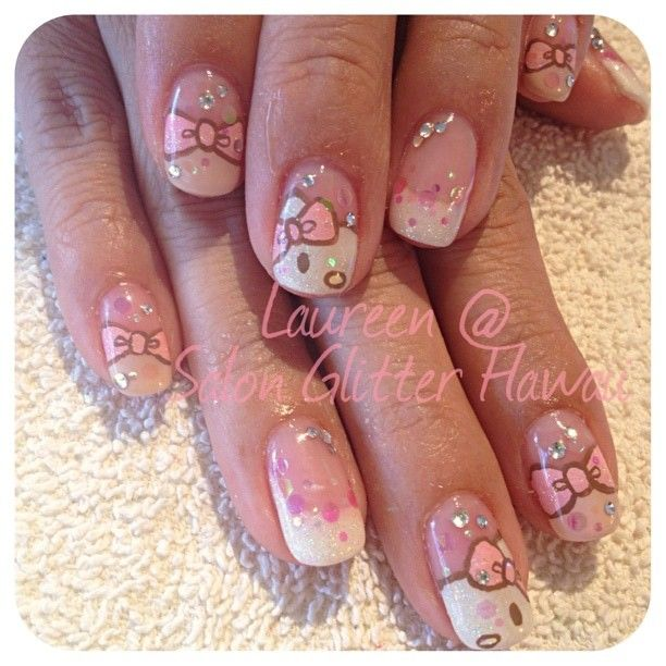 hello kitty nail's