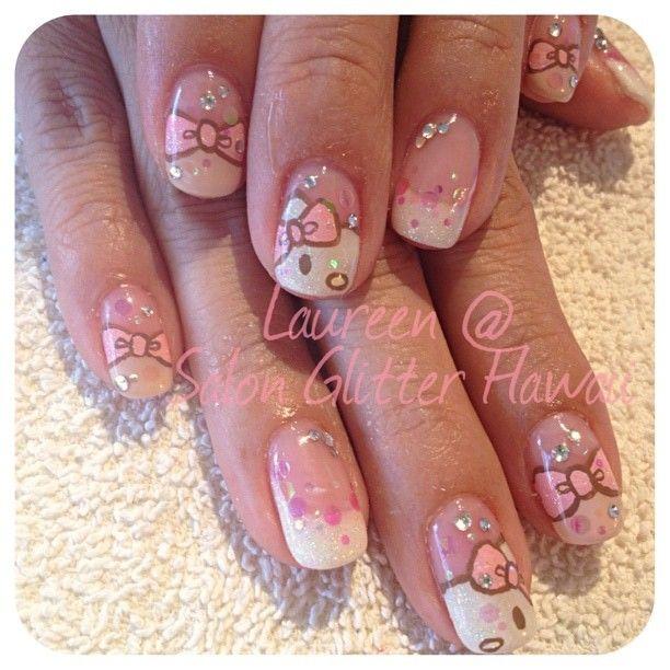 hello kitty nail's