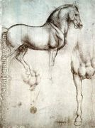Study of horses  by Leonardo Da Vinci
