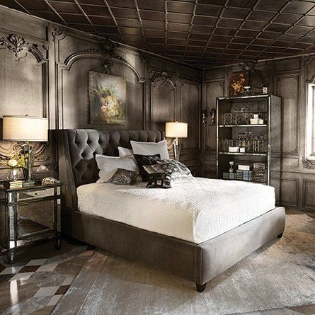 Fancy   King Bed   Devereaux Collection   Arhaus Furniture