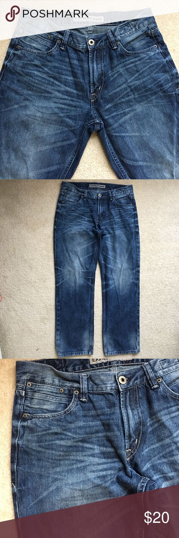 Express men's jeans size 32/30 Very good condition 9/10, no tear no hole Express Jeans Straight