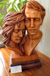 Wood sculpture by Fred Zavadil