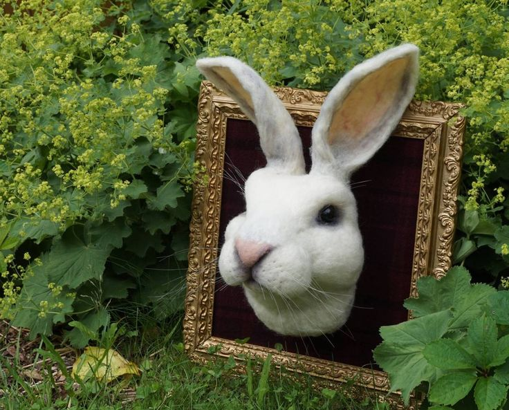 Fantastic Mr. Rabbit Felted By Bella McBride