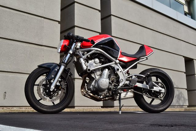 "Racing Cafè: Kawasaki Ninja 650 R (ER-6f) ""Buffalo Harbor"" by Kustom Research"