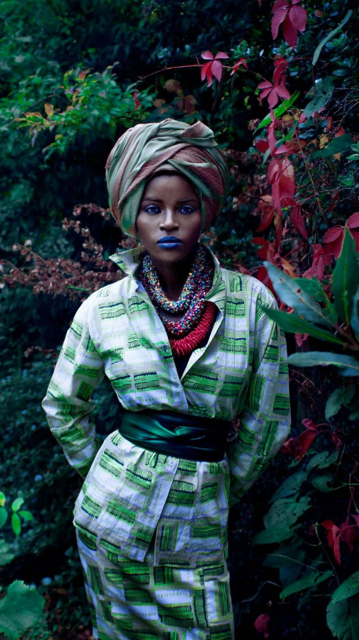 African in Fashion #editorial