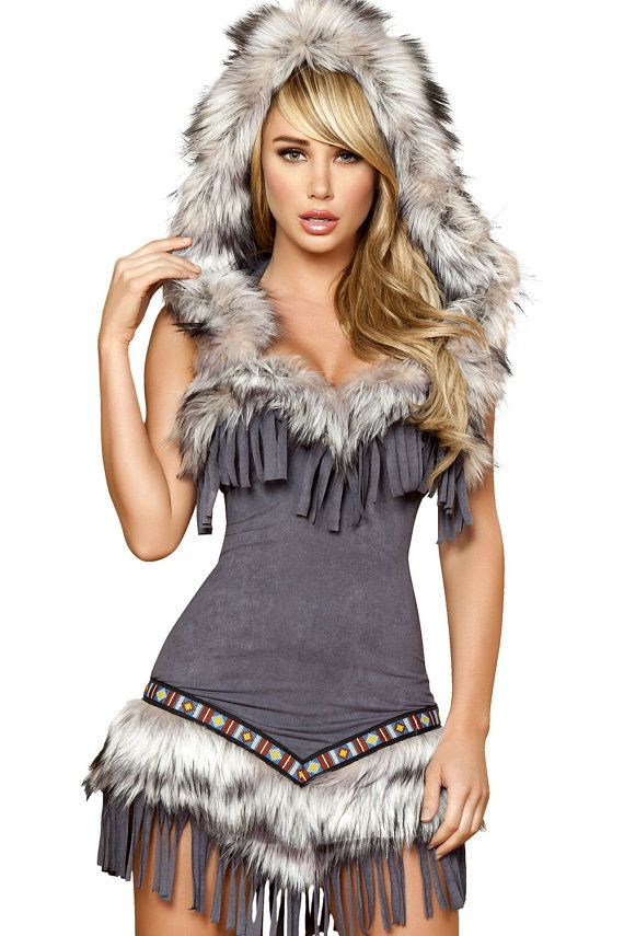 sexy costume for winter party, Sexy Viking Costume,Viking Warrior Costume on Etsy, $65.00