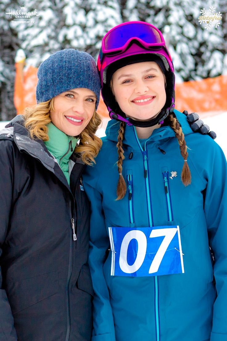 Winter's Dream - Former pro skier (Kristy Swanson) coaches Anna (Lizzie Boys) on Bliss Mountain on January 27 at 9/8c on Hallmark Channel. #WintersDream #HallmarkChannel