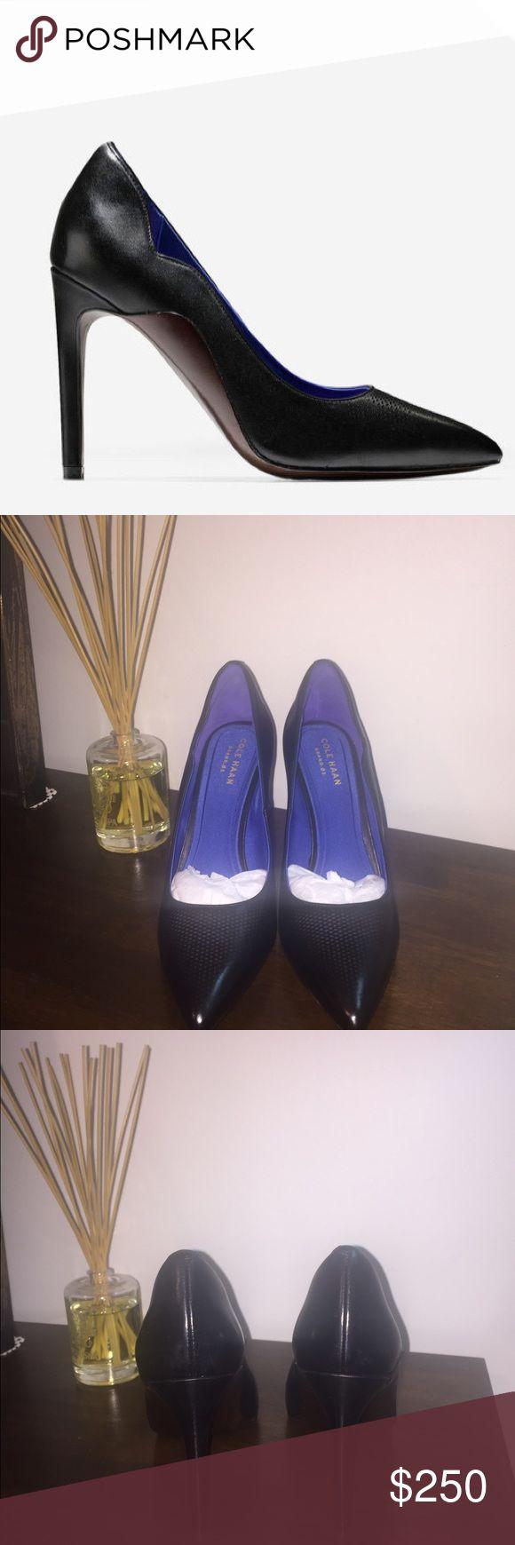 🎉FLASH SALE🎉 Cole Haan Antoinette Grand Pump Brand new Cole Haan black pumps! Never been worn. It's a 4 inch heel, leather shoe. Cole Haan Shoes Heels
