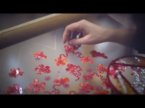 DIY i'd love to be able to make!!! some good craft ideas in here - Making-of the CHANEL Spring-Summer 2015 Haute Couture Collection - YouTube