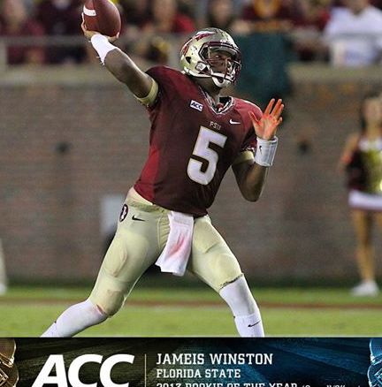 Jameis Winston will sit the first half of the big game against Clemson this Saturday as school punishment for yelling