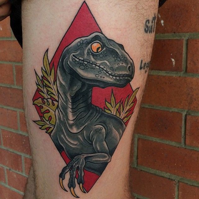 Best 25+ Velociraptor tattoo ideas on Pinterest | Jurassic ...