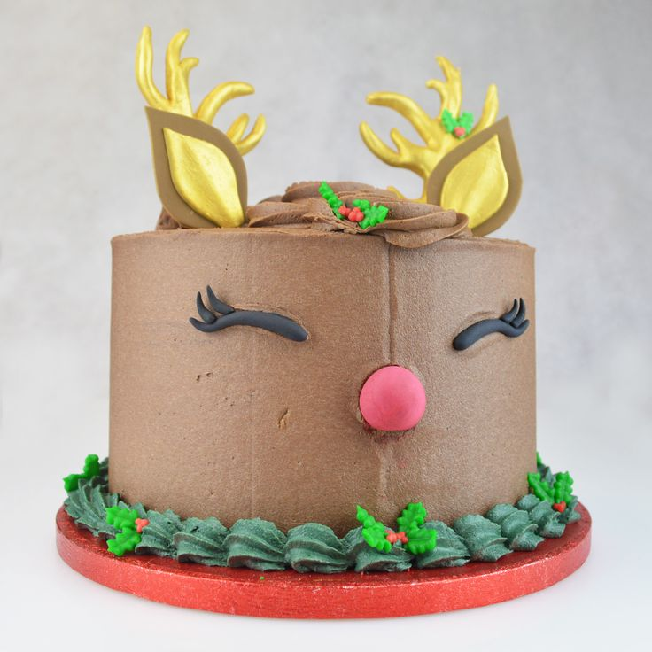 reindeer cake to view the tutorial please visit https www