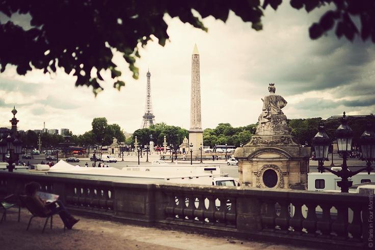 Place de la Concord. Paris in Four Months blog gets me every time.