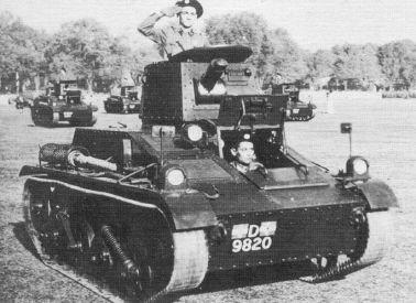 Dutch vickers tank