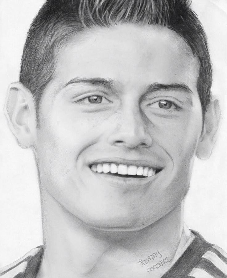 42 best Arte Dibujo lapiz futbolistas images on Pinterest