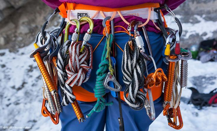 Ice climbing - Petzl tech tips