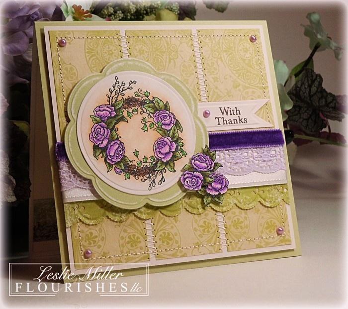 Lovely in Lavender- Seasonal Wreaths