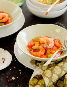 Receta Camarones Guisados | Ingredientes frescos y fácil preparación en un plato dominicano que complacerá a tus invitados.