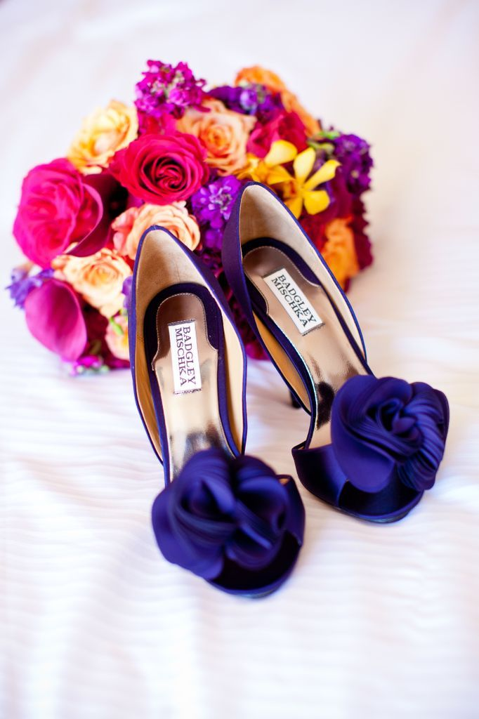 17 Best Images About Steph S Blue And Hot Pink Wedding On