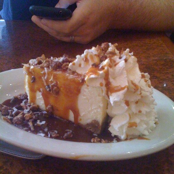 Copeland's Cheesecake Bistro - Turtle Cheesecake