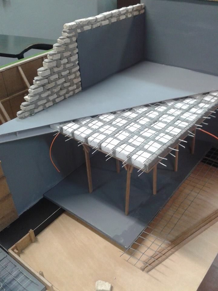 Sistema constructivo maquetas pinterest - Como hacer una maqueta de una casa ...