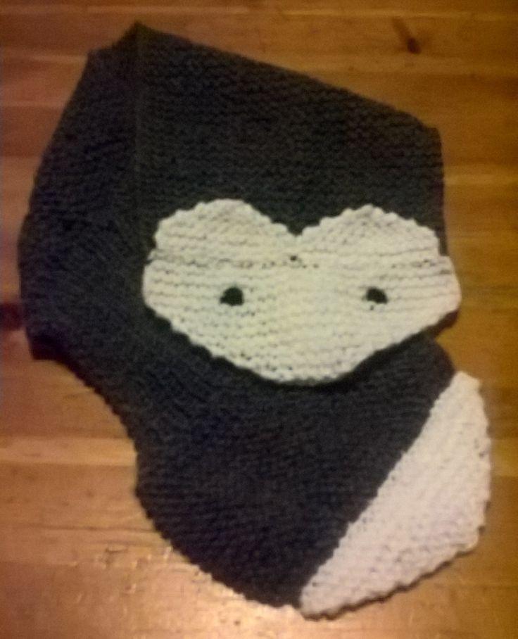 Wolf scarf- sciarpa a forma di volpe